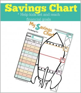savings chart for kids