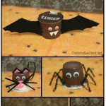 Edible Halloween Crafts with Pudding Cups: Monsters, Spiders, and Cats