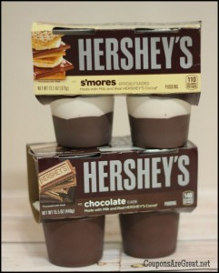 hersheys pudding smores chocolate