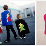 Personalized Superhero Cape