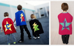 personalized cape