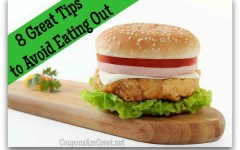 8 Ways to Avoid Eating Out