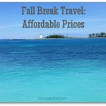 Fall Break is a GREAT Time to Travel: Our Carnival Fascination Cruise to the Bahamas