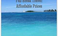 affordable fall break travel