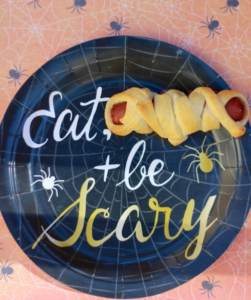 easy halloween food mummy dog dinner