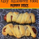easy halloween lunch mummy dogs