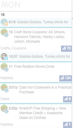 coschedule social shares