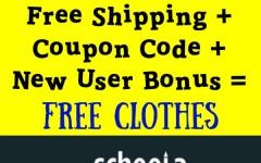 free clothes schoola