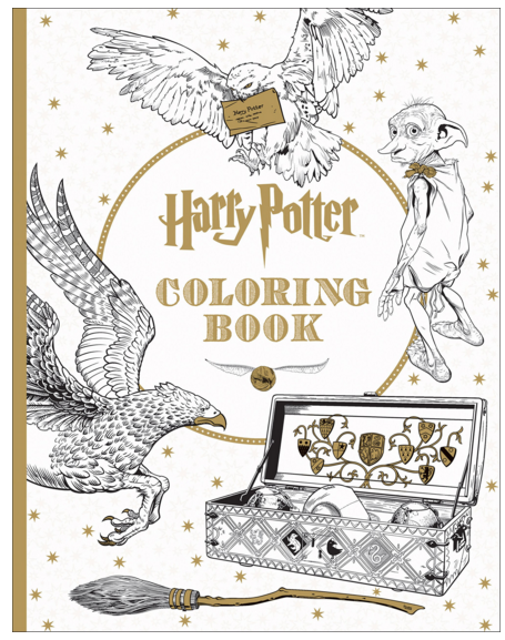 For The Hogwarts Fan Harry Potter Coloring Books