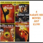 Great DVD Deal – Four Karate Kid Movies for $4