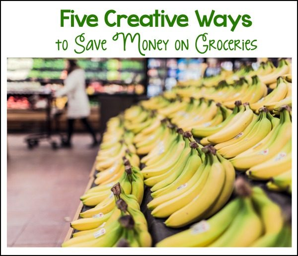 five creative ideas to save money on groceries. Black Bedroom Furniture Sets. Home Design Ideas