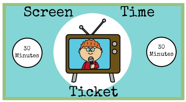 screen time ticket