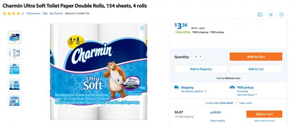 topcashback free toilet paper