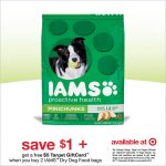 Save on Iams Dog Food at Target