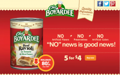 Stock Up on Chef Boyardee for Easy Weeknight Dinners