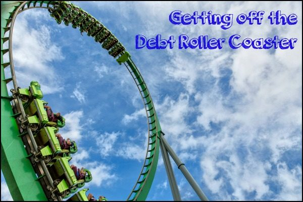 Paying off debt and getting off the debt roller coaster is entirely possible. Here's how.