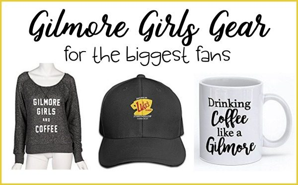 Fast talking, coffee, friendships, relationships - Gilmore Girls has it all. Make sure the biggest Gilmore Girls fans has some of this gear.