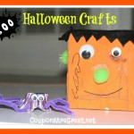 Halloween Crafts for Kids – Egg Carton Spider and Frankenstein Monster Box