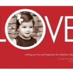 Hot!  Free Personalized Valentine's Day Greeting Card from Tiny Prints – Monday Only!