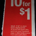 Target Freebie: Ten Free 4 Inch by 6 Inch Photos In-Store