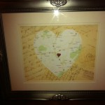 Creating a Framed Map Collage