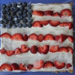 Yummy Dessert: 4th of July Fruit Pizza Recipe for Kids