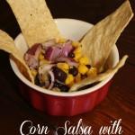 Corn Salsa with Black Beans Recipe