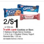 Free Quaker Chewy Yogurt Granola Bars at Walgreens with Printable Coupon