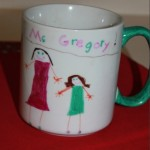 Do It Yourself Sharpie Coffee Cup Craft
