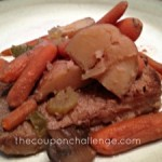 Slow Cooker Recipes: Beef Pot Roast and Veggies