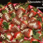 Chocolate Covered Football Strawberries: Two Lessons Learned