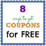 8 Ways to Get Coupons for Free