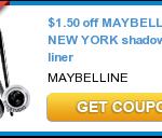 Free Maybelline Eye Shadow at Publix