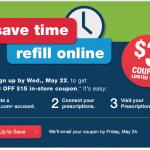 Printable CVS Coupon: Save $3 off $15 Purchase