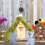 Fairy House Craft Idea: Create a Fairy House Village or Fairy Garden