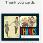 Shutterfly Freebie: 12 Free Thank You Cards (+ $4.99 Shipping Fee)