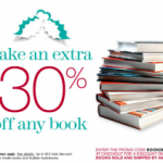 Don't Forget: Save 30 Percent on Any Book at Amazon