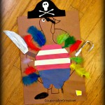 Kindergarten Homework: A Pirate Turkey Disguise