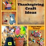 Thanksgiving Craft Ideas Round Up