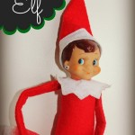 Elf on the Shelf Ideas: The Elf Gets Bling with Earrings and Glitter