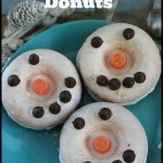 Baked Snowman Donuts Recipe