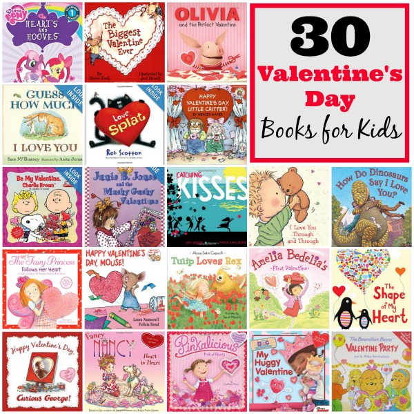 30 Valentines Day Books for Kids (Through age 9)