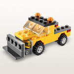 First Tuesday of the Month: Free LEGO Store Building Activity: Snowplow