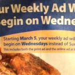 Kroger Ad Start Date Changes to Wednesdays on March 5