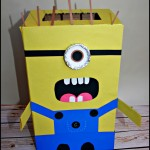 Minion Valentine's Day Card Holder
