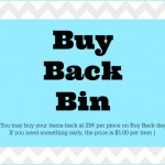 The Buy Back Bin: Teaching Kids Responsibility for Being Messy
