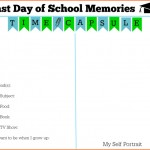 Printable Last Day of School Certificate: Time Capsule Memories