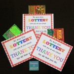 Teacher Appreciation Idea: Lottery Tickets