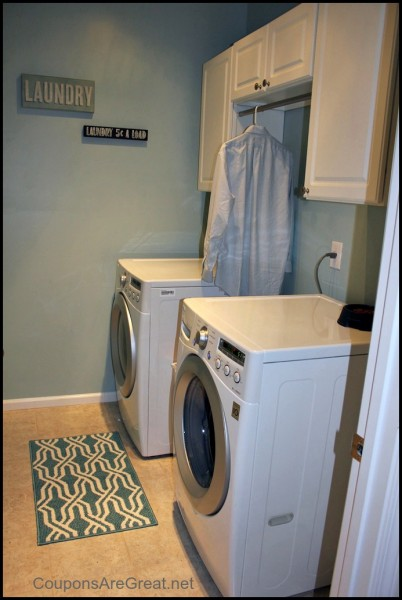 our laundry room renovation