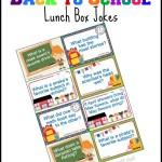 Printable Back to School Lunch Box Jokes using Jokes for Kids